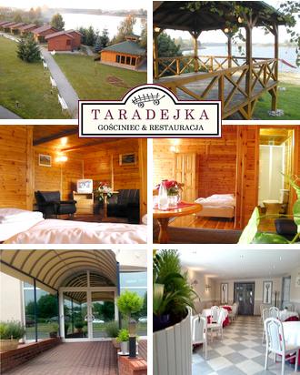 Ungewöhnliches Hotel in Polen Gasthaus Taradejka Karte
